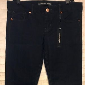 Express 8 Stella cropped low rise skinny jeans
